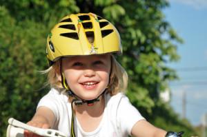 Die richtige Größe eines Fahrradhelms ermitteln