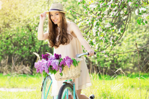 Abnehmen durch Fahrrad fahren