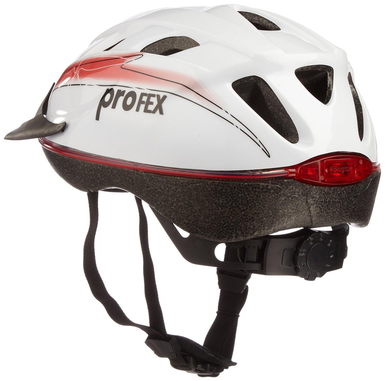 Profex Fahrradhelm mit Beleuchtung