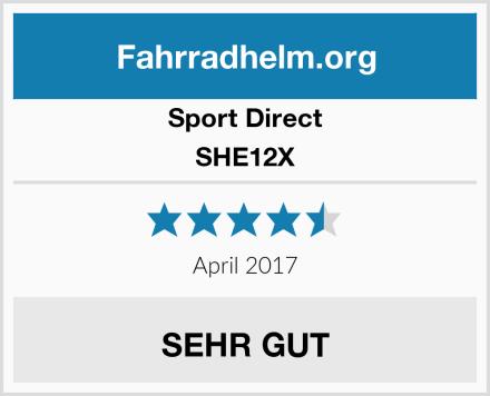 Sport Direct SHE12X Test