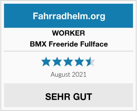 WORKER BMX Freeride Fullface Test