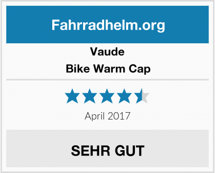 Vaude Bike Warm Cap Test