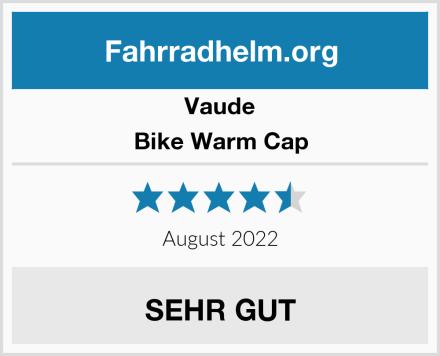 Vaude Bike Warm Cap Test