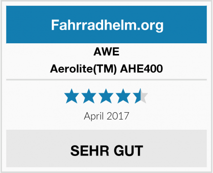 AWE Aerolite(TM) AHE400 Test