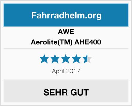 AWE Aerolite(TM) AHE400 Test