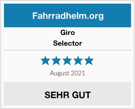 Giro Selector Test