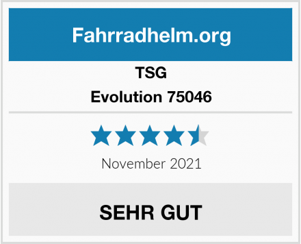 TSG Evolution 75046 Test