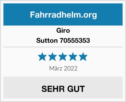Giro Sutton 70555353 Test
