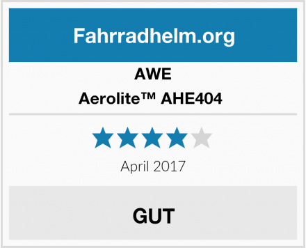 AWE Aerolite™ AHE404  Test