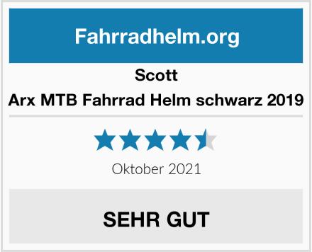 Scott Arx MTB Fahrrad Helm schwarz 2019 Test