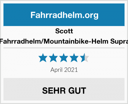 Scott Fahrradhelm/Mountainbike-Helm Supra Test