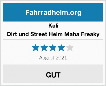 Kali Dirt und Street Helm Maha Freaky Test