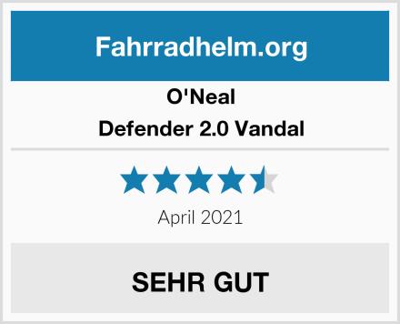 O'Neal Defender 2.0 Vandal Test