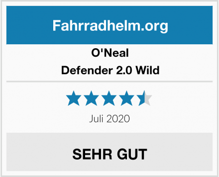 O'Neal Defender 2.0 Wild Test