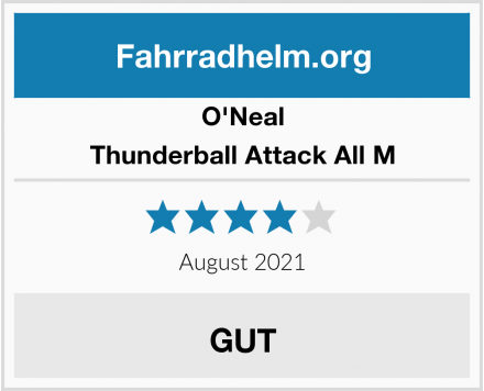 O'Neal Thunderball Attack All M Test
