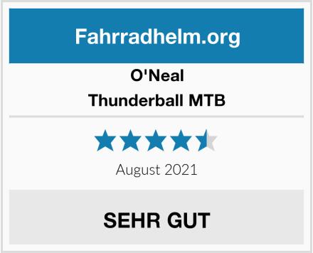 O'Neal Thunderball MTB Test