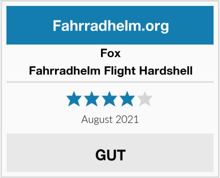 Fox Fahrradhelm Flight Hardshell Test