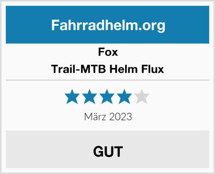 Fox Trail-MTB Helm Flux Test