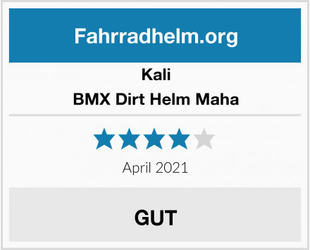 Kali BMX Dirt Helm Maha Test