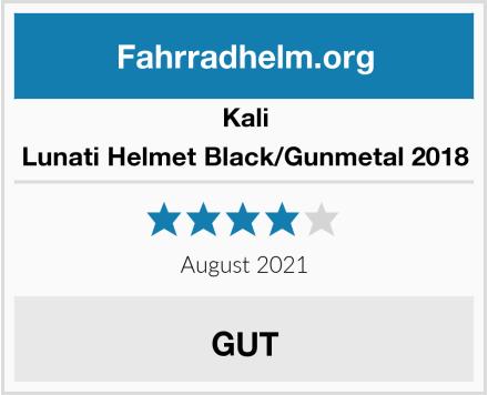Kali Lunati Helmet Black/Gunmetal 2018  Test