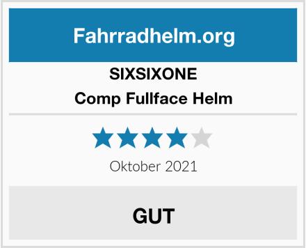 SixSixOne Comp Fullface Helm Test