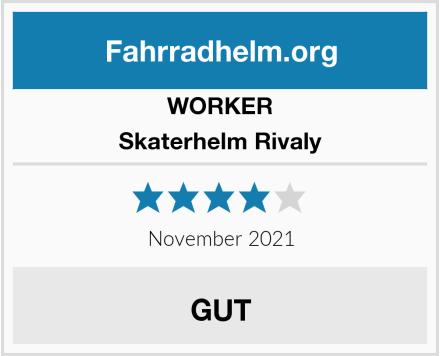 WORKER Skaterhelm Rivaly  Test