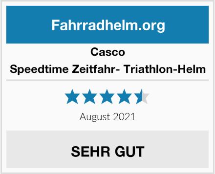 Casco Speedtime Zeitfahr- Triathlon-Helm Test