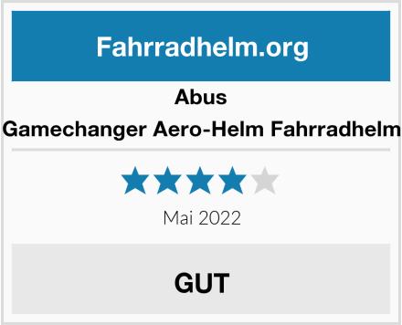 Abus Gamechanger Aero-Helm Fahrradhelm Test