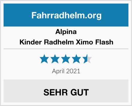 Alpina Kinder Radhelm Ximo Flash Test