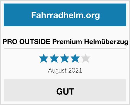 No Name PRO OUTSIDE Premium Helmüberzug Test