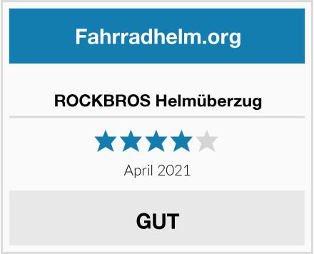 No Name ROCKBROS Helmüberzug Test