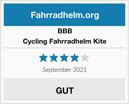BBB Cycling Fahrradhelm Kite Test