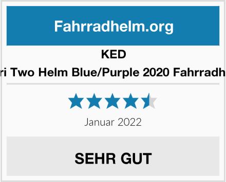 KED Spiri Two Helm Blue/Purple 2020 Fahrradhelm Test
