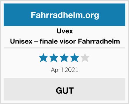 Uvex Unisex – Erwachsene, finale visor Fahrradhelm Test