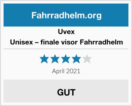 Uvex Unisex – finale visor Fahrradhelm Test