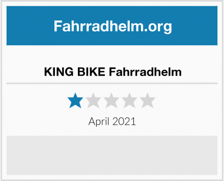 KING BIKE Fahrradhelm Test