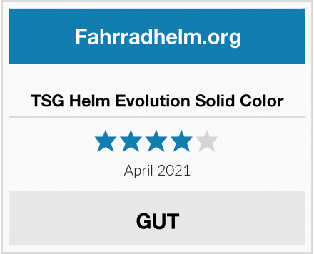 TSG Helm Evolution Solid Color Test
