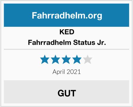 KED Fahrradhelm Status Jr. Test