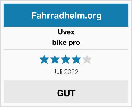 Uvex bike pro Test