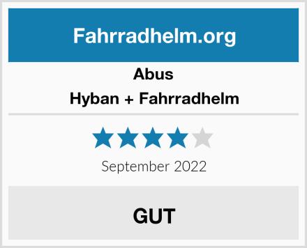 Abus Hyban + Fahrradhelm Test