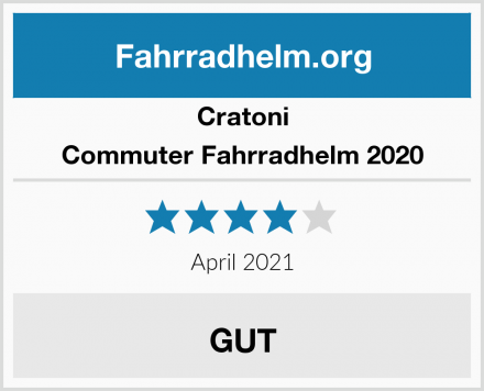 Cratoni Commuter Fahrradhelm 2020 Test