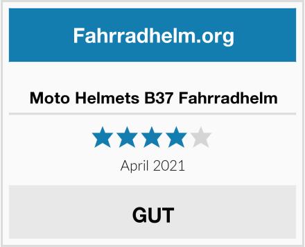 Moto Helmets B37 Fahrradhelm Test