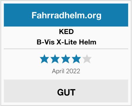 KED B-Vis X-Lite Helm Test