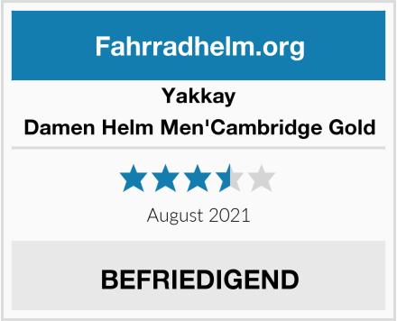 Yakkay Damen Helm Men'Cambridge Gold Test