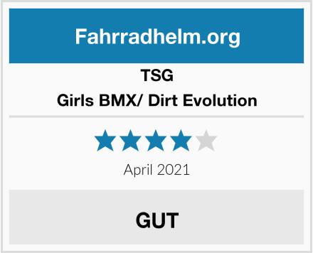 TSG Girls BMX/ Dirt Evolution Test