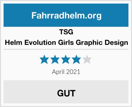 TSG Helm Evolution Girls Graphic Design Test