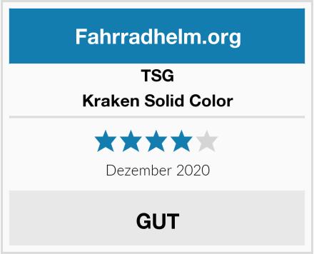 TSG Kraken Solid Color Test