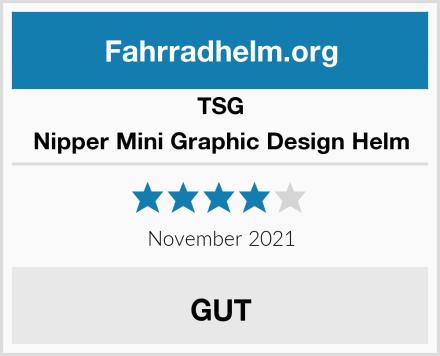TSG Nipper Mini Graphic Design Helm Test
