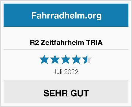 R2 Zeitfahrhelm TRIA Test