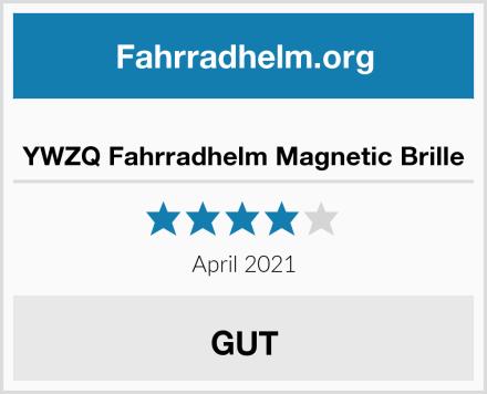 YWZQ Fahrradhelm Magnetic Brille Test